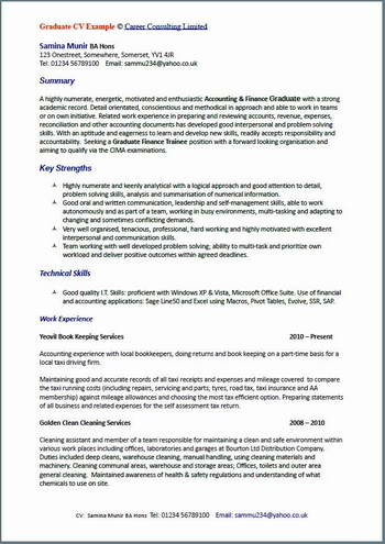 cv writing examples all cv writing